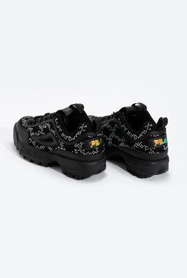 Disruptor II Diamante Leather Sneakers
