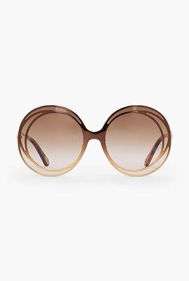 Carlina Halo Oversized Sunglasses