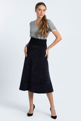 Lurex Sweater Skirt