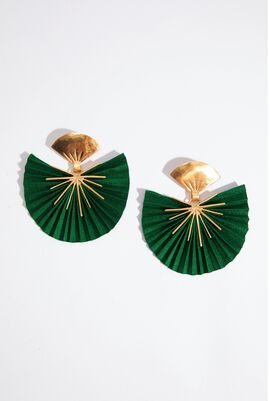 Sparkle Fan Earrings