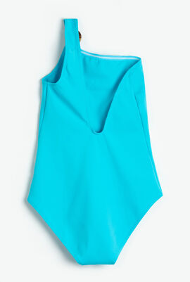 Friza Asymmetrical One Piece Swimsuit