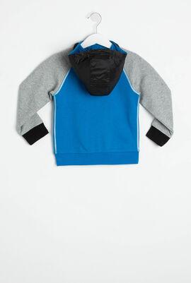 Color Block Hoodie Sweatshirt