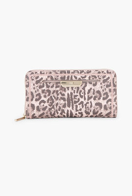 Summer Leo Long Zip Around Wallet