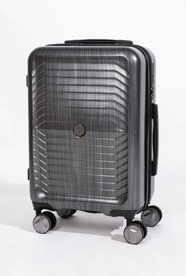 حقيبة كبيرة بأربع عجلات خفيفة الوزن ومزودة بقفل