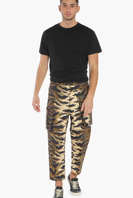 Tiger Camouflage Cargo Pants