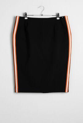 Caff Side Stripes Skirt