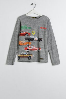 Gray LongJohn T-Shirt