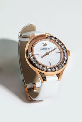 Lovely Crystal Mini Analog Watch