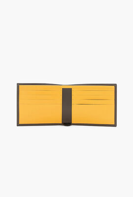 Contrasting Leather Bifold Wallet