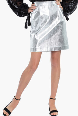 Silver Coated Skirt