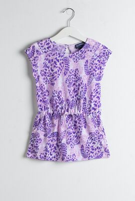 Gessica Turtle Print Dress