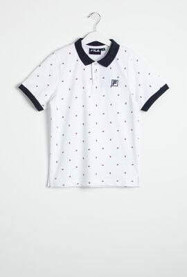 Saul All Over Print Polo Shirt