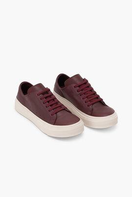 Platform Solid Sneakers