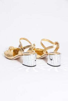 Knot Peep Toe Sandals