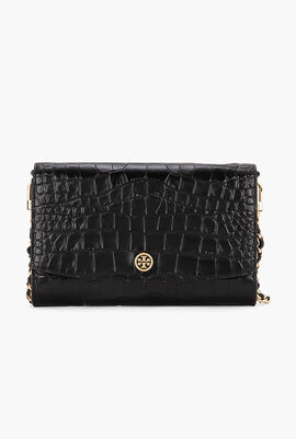 Robinson Embossed Chain Clutch