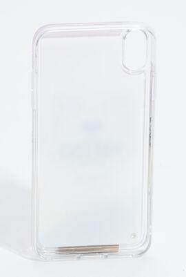 حافظة هاتف آيفون XS ماكس بطبعة نمر