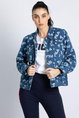 Ari Aop Logo Denim Jacket