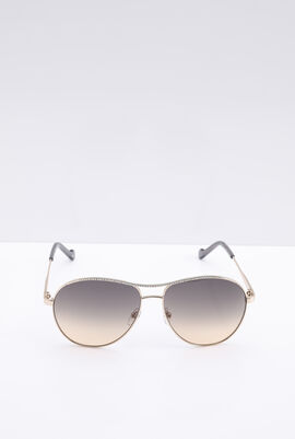 Aviator Classic Brown Women's Sunglasses