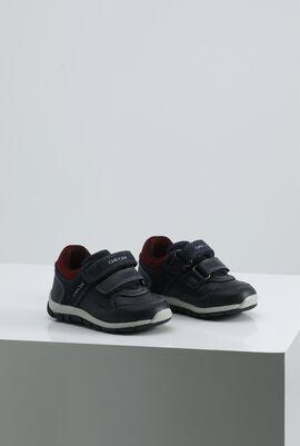 B Shaax B. A Navy Sneakers