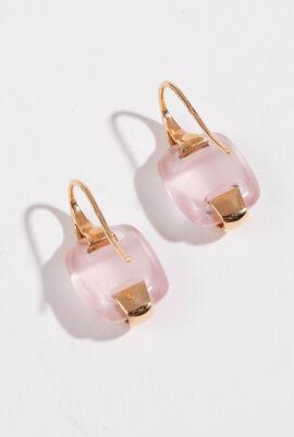 Varino Center Stone Hook Earrings