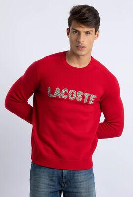 Crocodile Embroidery Logo Sweater