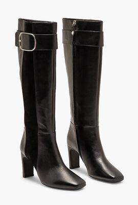 Vivyanne Leather Knee High Boots