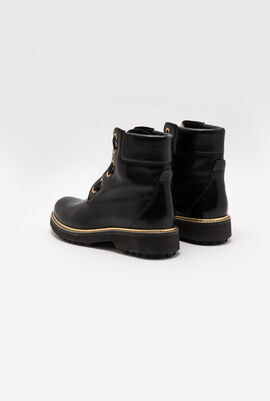 Asheely Leather Boots