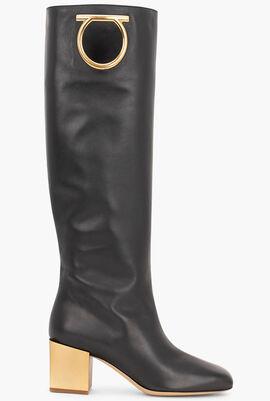 Avio 55 Knee High Leather Boots