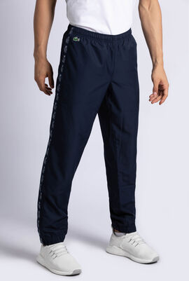 Croc Print Band Tennis Sweatpants