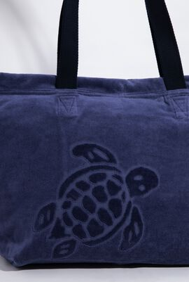 Barney Solid Jacquard Terry Large Beach Bag