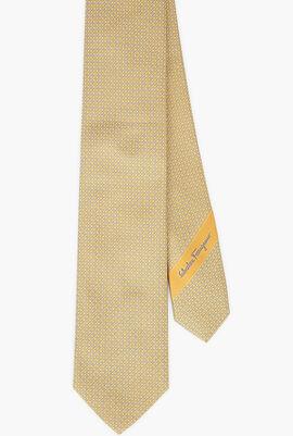 Gancini Patterned Tie