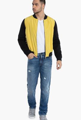 Versace Jeans Colorblock Bomber Jacket