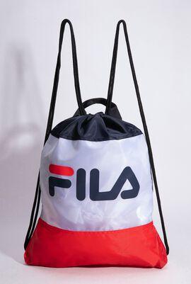Scoopy White Gym Sack Bag