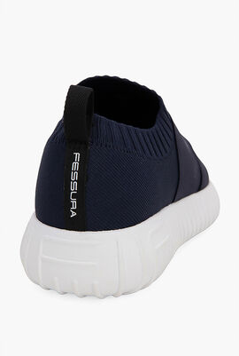 Double Straps Sockband Sneakers
