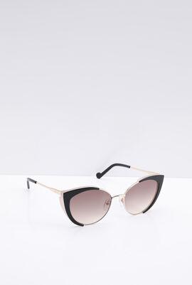 Cat Eye Black Women's Sunglasses