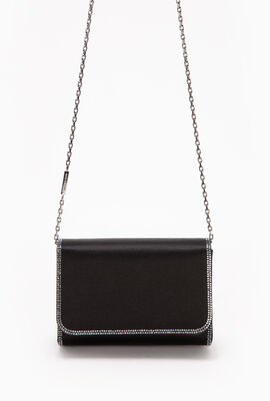 Satin Caovilla Shoulder Bag