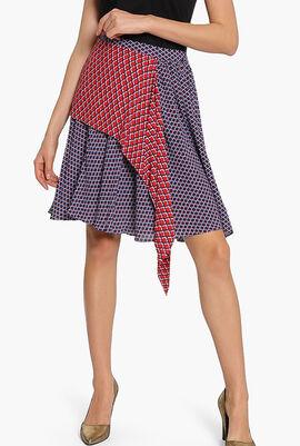 Printed Handkercheif Skirt
