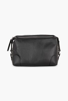 Wilton Leather Washbag