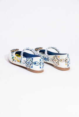 Printed Ballerina Shoes