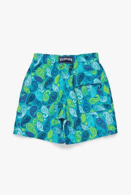 Ocean Paisley Swim Shorts