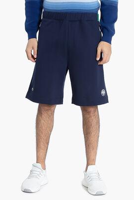 Roland Garros Cotton Fleece Shorts