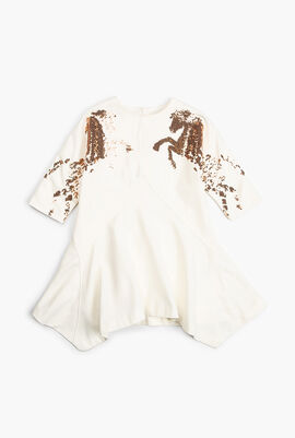 Horse Sequined Dress