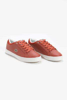 Straightset Leather Trainers