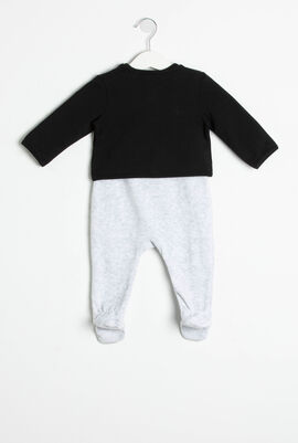 Choupette Pajamas and Jacket Set