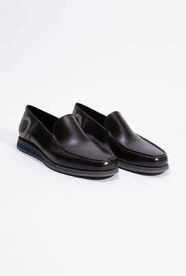 Alford Matt Black Calf Loafers
