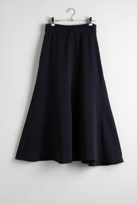 Elvira Navy A-Line Skirt