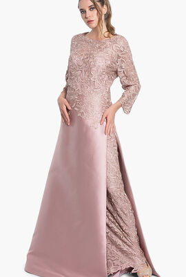 Lace Top Gown