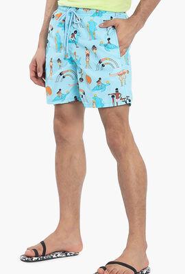 My Favorite Dad Swim Shorts
