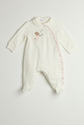 Teddy Footed Romper