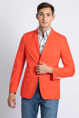 Cotton Tailored Fit  Jacket